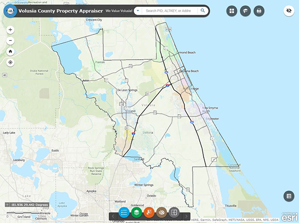 Property Appraiser's Mapping Application